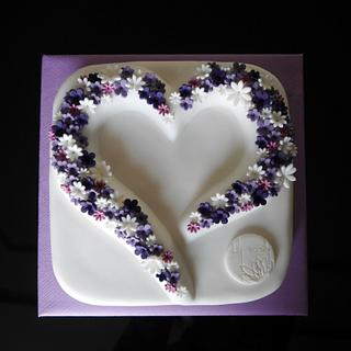 A Sweetheart for SWEETHEART - Cake by Lily Vanilly