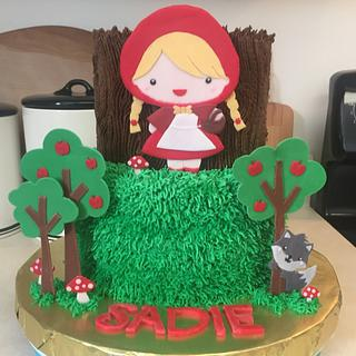 Little Red Riding Hood - Cake by Julie