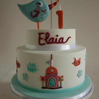 Elaia's first birthday