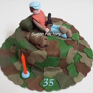 Hunter birthday cake