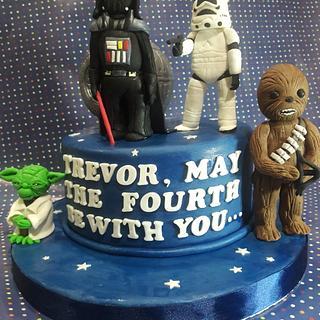 Star wars cake - Cake by Rachelsweet