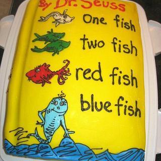 Dr. Seuss Baby Shower Cake - Cake by cakesbymary