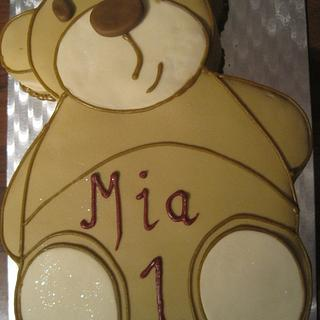 Teddy bear cake - Cake by Misssbond