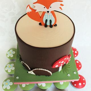 Woodland - Cake by Kateřina Lončáková