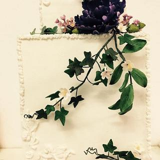 Peony cake - Cake by ana ioan
