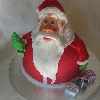My Santa cake - Cake by Irina Vakhromkina