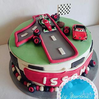 Racing cake - Cake by Cake design by youmna