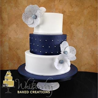 Navy Poetry - Cake by Whitsunday Baked Creations - Deb Smith
