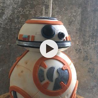 Spinning BB-8 Star Wars