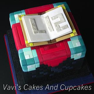 Luc's Minecraft Birthday Cake  - Cake by Vavijana Velkov