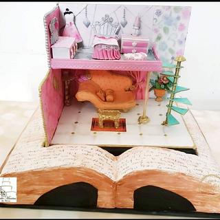 Fantasy World :  Cakerbuddies Miniature  Doll House Collaboration