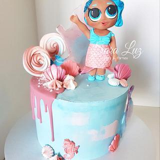 LOL Splash Queen Drip Cake