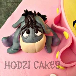 Eeyore Cake Topper😍 - Cake by Hend Taha-HODZI CAKES