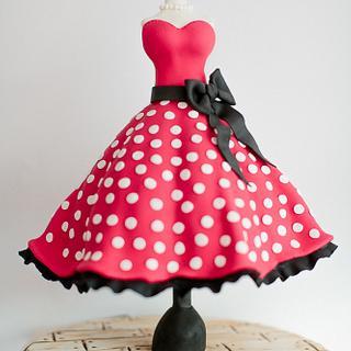 Couture Cake polka dot dress