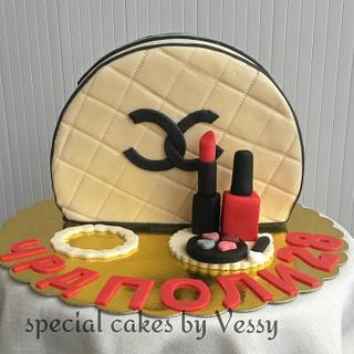 My first bag cake