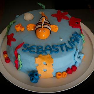 Nemo cake - Cake by vikios