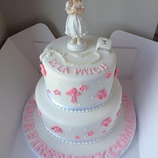 Beautiful Holy communion cake  - Cake by Nicolas cakes