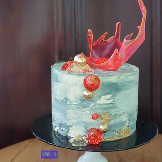 Crystal Bowl Butter Cake