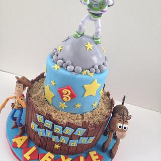 Toy Story Cake - Cake by BAKED