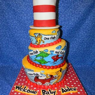Seussical Baby Shower cake! - Cake by Traci