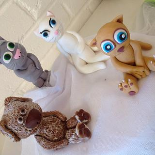 Talking Pets Cake Toppers