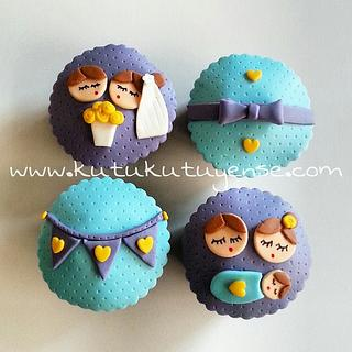 Evli Mutlu Cocuklu Cupcakeleri :)