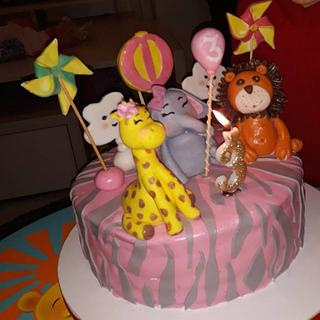 Birthday cake. - Cake by Aki