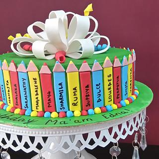 A cake for a teacher