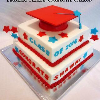 Graduation Cake - Cake by RuthieAnn