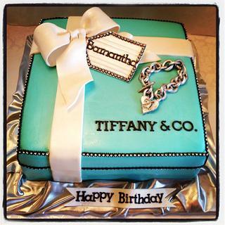 Tiffany & CO. - Cake by Heidi
