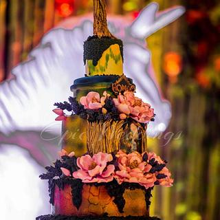 Enchanted forest - Cake by Maaria