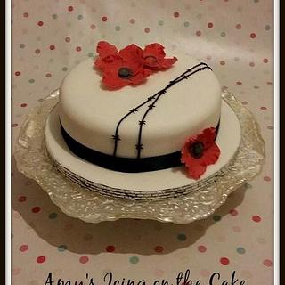 Poppy Cake - Cake by Amy's Icing on the Cake