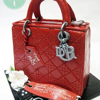 Lady Dior - Cake by Nicholas Ang