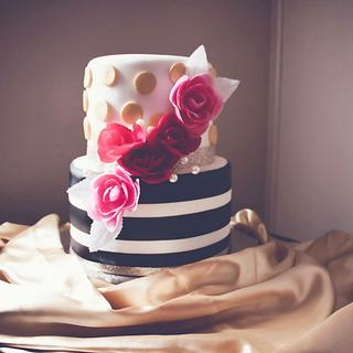 Kate Spade inspired 21st Birthday Cake