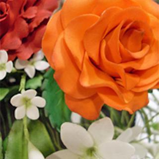 Flores es pasta de goma