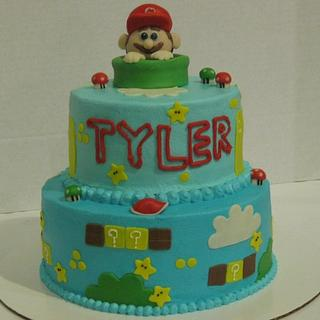 Super Mario - Cake by Tina