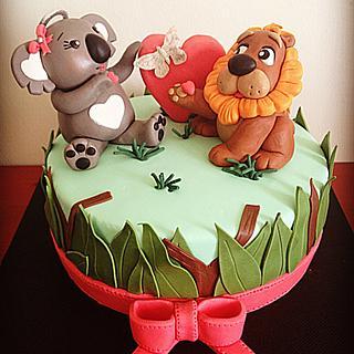 Koala and Lion