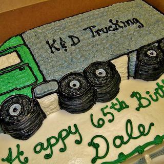 Buttercream Truck cake - Cake by Nancys Fancys Cakes & Catering (Nancy Goolsby)