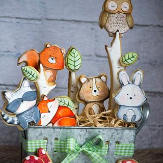 Forest Animals Coockies