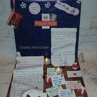 "CPC CHRISTMAS COLLABORATION CAKE ""What's Inside?"" - Letter to Santa"
