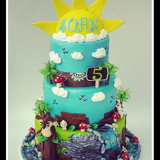 Nature theme Cake. - Cake by Lexia Delices