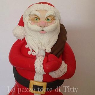 Santa Claus - Cake by Titty