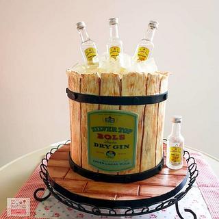 Buttercream Cake - Gin Cake