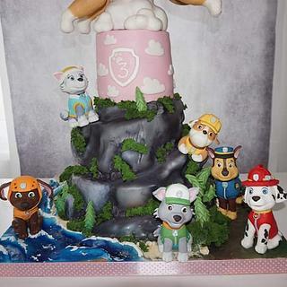 Paw Patrol  - Cake by Eliska
