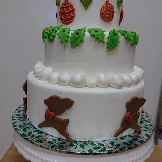 Christmas cake - Cake by Stertaarten (Star Cakes)
