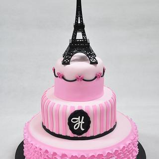 Paris Cake - Cake by Sweet Success