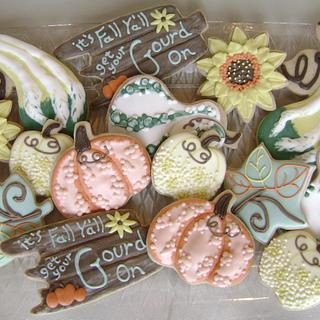 Get your Gourd On Cookie Set