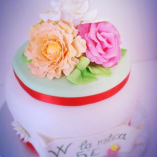 Flower cake  - Cake by Daniela e Fabio