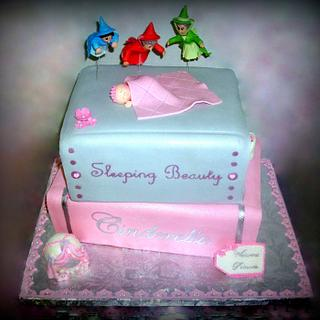 Fairytale Books Baby Shower Cake