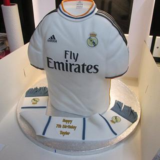 Real Madrid / Gareth Bale football top.